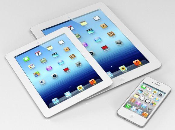 iPhone 5, iPad mini, iPod