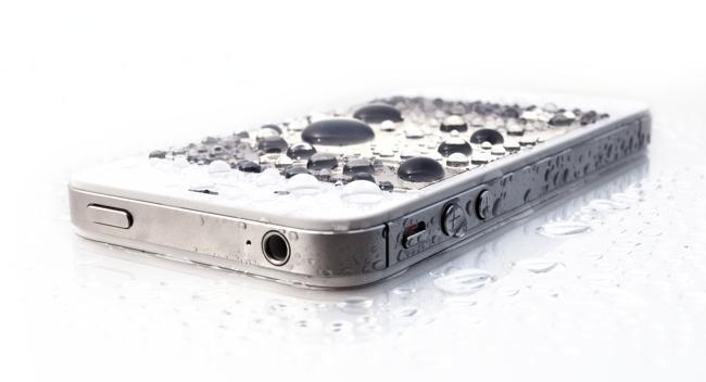 iphone вода